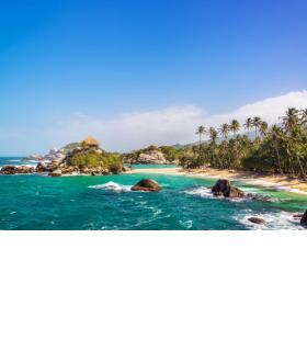 Sublimes rivages des Caraïbes.