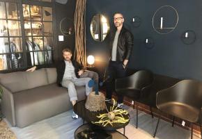 Patrick Buhler (à gauche) et Michael Rivoire (à droite) ont travaillé dans le design avant de lancer Aegon+Aegon. DR