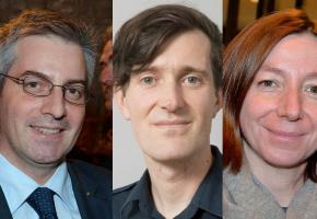 Pierre-Antoine Hildbrand, David Payot et Natacha Litzistorf entrent à la Municipalité le 1er juillet prochain.