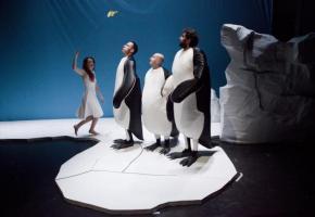 Trois pingouins. DR