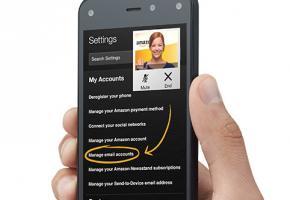 Il faut désormais compter sur un smartphone Amazon