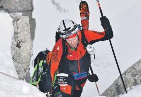 31e édition de la mythique épreuve de ski alpinisme: La Patrouille des Glaciers. dr