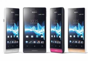 Sony Smartphone XPERIA