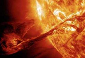 Le soleil en grand