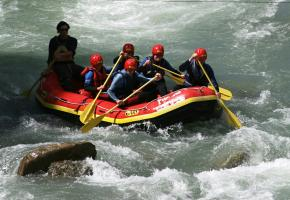 Rafting - Avec quelques frissons garantis!