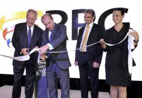 Le nouvel espace accueille tous les nouveaux modèles des marquesRenault, Dacia et Nissan. Valdemar Verissimo