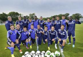 Le FC Lausanne-Sport face à son destin. © Valdemar VERISSIMO