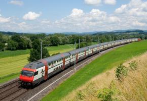 La généralisation des trains à deux étages, un enjeu majeur pour faire face à l'augmentation des voyageurs. DR