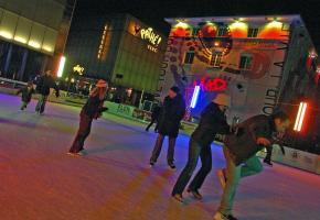 La patinoire du Flon fête ses 10 ans