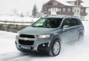 Le Chevrolet Captiva représente un bon rapport prix/prestations.