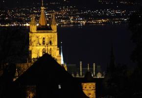 Lausanne la nuit - Ambiance nocturne