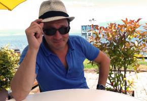Yann Lambiel aime la terrasse du Club nautique de Morges. SCHNEITER