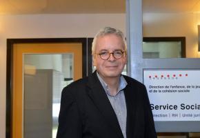 Michel Cornut, chef du Service social de la ville de Lausanne. verissimo