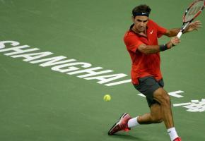 Federer, notre phare moitié marbre moitié cristal. DR