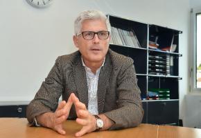 Michel Joye espère arriver à un accord avec les syndicats d'ici la fin de l'année. VERISSIMO