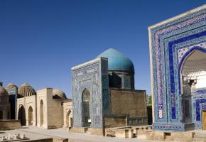 Christianisme et judaïsme ont influencé certaines représentations de l'art islamique. DR Des détails qui témoignent d'un art raffiné. DR La Médersa de Bukhara. DR Le dome de Samarcande. DR