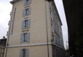 Le GuestHouse:Une des rares offres hôtelières bon marché de Lausanne. dr