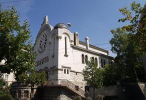 La synagogue de Lausanne. DR