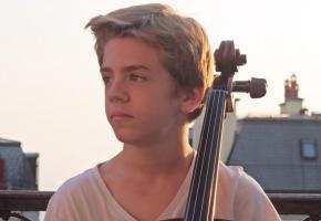 A 13 ans, Oleg Gafner sait ce qu'il veut et comment l'obtenir. dr