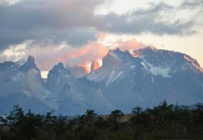 Un gaucho et ses moutons dans l'Estancia Galpon del Glaciar. En Patagonie, les glaciers grondent en permanence. Ici, le glacier Spegazzini. Les aiguilles autour du célèbre Fitz Roy (3375 m.).