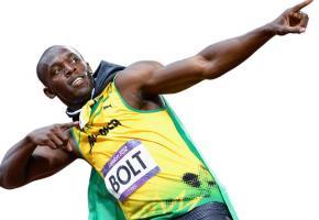 Usain Bolt à Lausanne DR