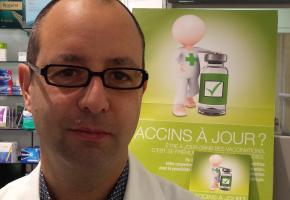 Pierre Alain Rey, Président de la Société de pharmacie. dr