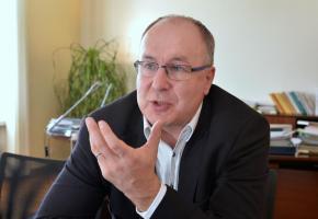 Président du Conseil d'Etat, Pierre-Yves Maillard. VERISSIMO