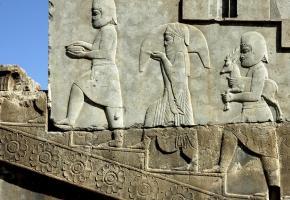Bas-relief à Persépolis.