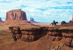 L'ambiance western n'est jamais très loin dans l'ouest américain.