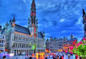 La Grand-Place de Bruxelles, une merveille architecturale.
