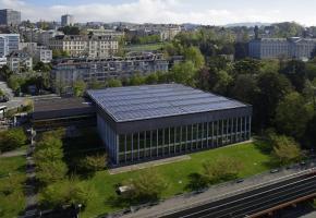 Une des nouvelles centrales photovoltaïques créées en 2016. DR