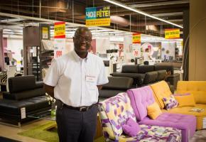 Amadou Sagna, directeur de la filiale de Bussigny. MISSION