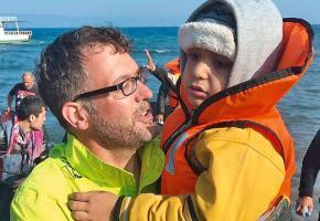 Michael Räber, bouleversé par le désastre humanitaire qui touche la Grèce. DR