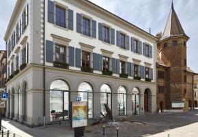 L'Hôtel de ville de Morges. dr