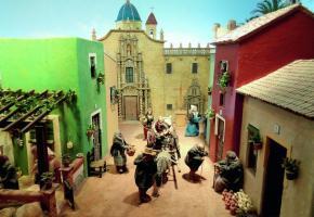 Les Espagnols soignent particulièrement les décors et les personnages bibliques.