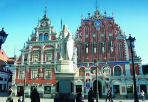 Le décor urbain de Riga est souvent utilisé par le cinéma. BERNARD PICHON