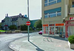 La rue du Dr- Yersin, à Morges. DR