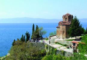 Le lac Ohrid est une étape incontournable lors d'un voyage en terres macédoniennes. DR Les monastères sont légion en Macédoine. DR. Les statues tentent de faire croire à un glorieux passé. DR Skopje est une capitale particulièrement atypique. DR