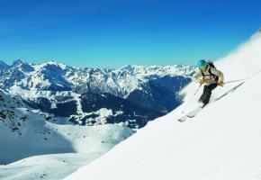 Verbier dispose de 11 itinéraires sécurisés réservés aux skieurs expérimentés.