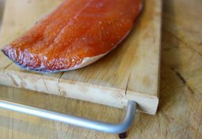 Saumon gravlax aux épices
