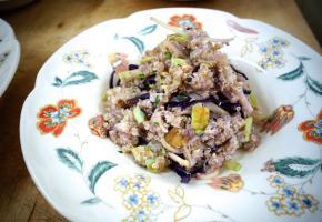 Quinoa sauté à la chinoise