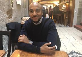 Abdelrahman Abu El Hassan, délégué à la cohésion sociale de Morges. ca