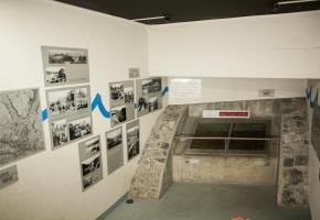 Au cœur du parking de la Riponne, on peut découvrir le lit de La Louve.  MISSON