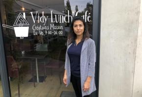 Susan Sax présidente de GastroLausanne et patronne du Vidy Lunch Café. CA