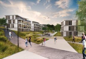 Le nouveau futur(?) quartier du Closalet, vanté par les uns, décrié par les autres. DR/PHOTOMONTAGE