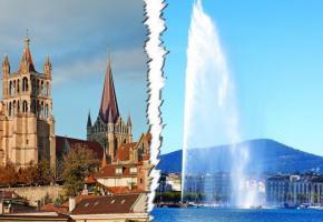 Dès le 1er janvier 2019, la concurrence fiscale entre Vaud et Genève se renforcera. DR
