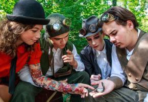 Le Théâtre d'enfants a imaginé la suite des aventures de Peter Pan. SEBASTIEN MONACHON