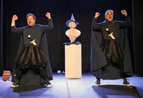 Les Frères Bugnon préparent un nouveau spectacle. DR