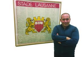 Resul Sahingöz, une saine ambition pour le Stade-Lausanne-Ouchy. WULLSCHLEGER