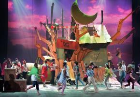 Le week-end dernier, dans une mise en scène de Stefan Hort, le Capitaine Crochet et toute sa clique de pirates, Peter Pan et les fougueux enfants perdus, mais aussi des fées et des sirènes, étaient sur la scène du Théâtre de Beaulieu à l'occasion  124e spectacle de La Paternelle, qui a fait rêver petits et grands. VALDEMAR VERISSIMO
